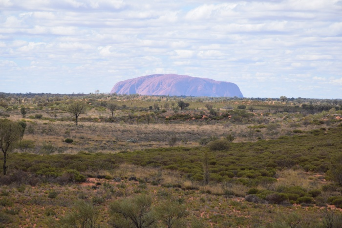 Uluru In The Distance